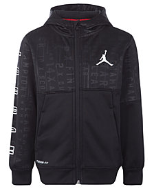 Jordan Little Boys 23 Tech Accolades Colorblocked Zip-Up Hoodie