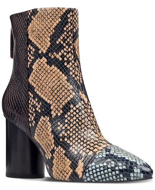 42042a46d7522 Nine West Cabrillo Cap-toe Booties   Reviews - Boots - Shoes - Macy s