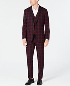 I.N.C. Mens Tartan Plaid Suit