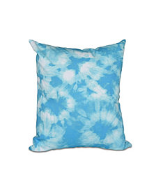 Chillax 16 Inch Turquoise Decorative Nautical Throw Pillow