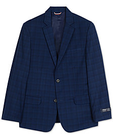 Tommy Hilfiger Big Boys Stretch Plaid Jacket