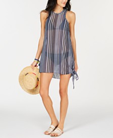 Becca Pierside Crochet Side-Tie Cover-Up