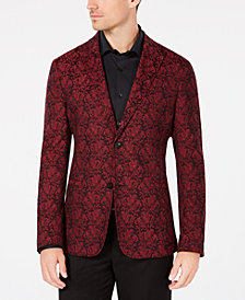 Ryan Seacrest Distinction™ Men's Holiday Jacquard Blazer, Created for Macy's
