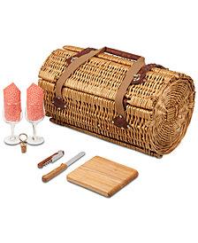 Picnic Time Verona Wine & Cheese Picnic Basket