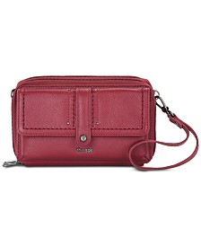 The Sak Sequoia Smartphone Leather Crossbody Wallet