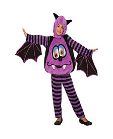 Wiggle Eyes-Bat Kids Costume