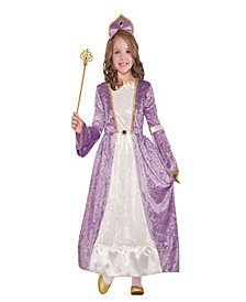 Princess Peyton Purple Girls Costume