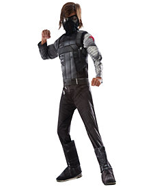 Captain America: Civil War Deluxe Winter Soldier Boys Costume