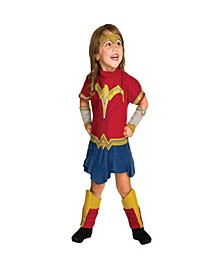 Wonder Woman Toddler Little and Big Girls Romper