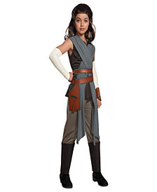 Star Wars Episode VIII - The Last Jedi Deluxe Rey Girls Costume