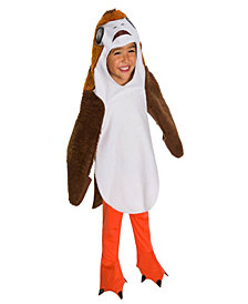 Star Wars The Last Jedi Deluxe Kids Porg Costume