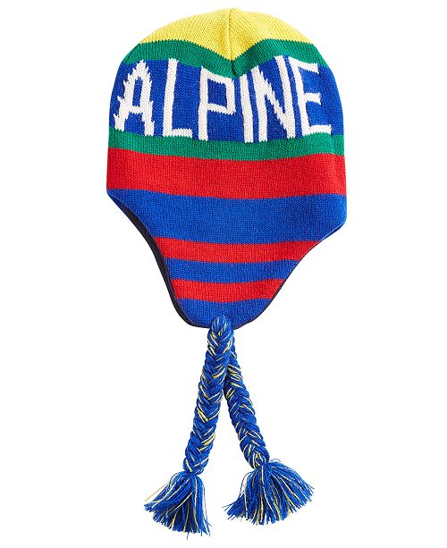 be5879f8ddf Polo Ralph Lauren Men s Downhill Skier Ear-Flap Cap - Hats