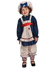Yarn Babies Ragamuffin Dolly Girls Costume