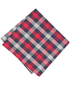 Bar III Men's Merrit Check Pocket Square, Created for Macy's