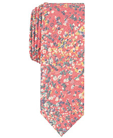 Penguin Men's Brooks Floral Skinny Tie