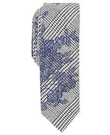 Penguin Men's Oscar Floral Skinny Tie