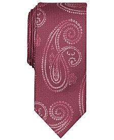 Tallia Men's Navin Paisley Slim Tie