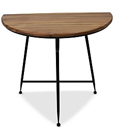 Lizbeth Round Side Table, Quick Ship