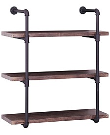 Henley 3-Tier Wall Shelf, Quick Ship
