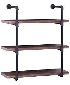 Henley 3-Tier Wall Shelf, Quick Ship