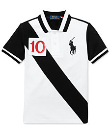 Polo Ralph Lauren Toddler Boys Mesh Cotton Polo