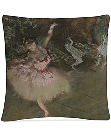 """Degas The Star 16"""" x 16"""" Decorative Throw Pillow"""