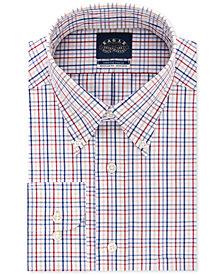 Eagle Men's Big & Tall Classic/Regular Fit Non-Iron Flex Collar Dress Shirt