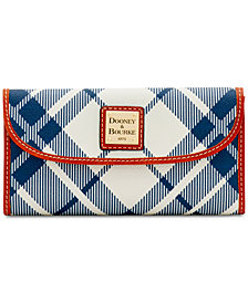 Dooney & Bourke Plaid Continental Wallet