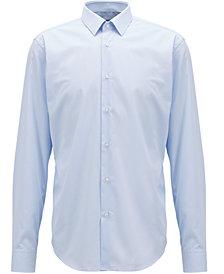 BOSS Men's Regular/Classic-Fit Striped Cotton Shirt