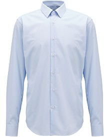 BOSS Men's Regular/Classic-Fit Striped Cotton Shirt