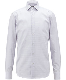 BOSS Men's Cotton Travel Shirt