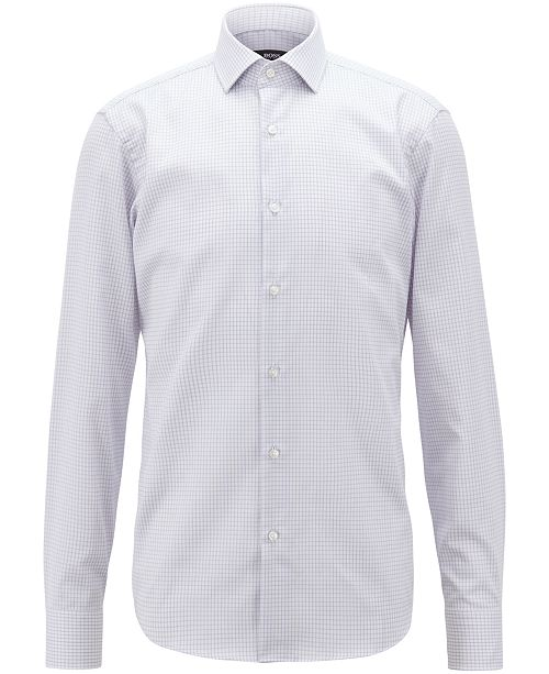 Hugo Boss BOSS Men's Cotton Travel Shirt