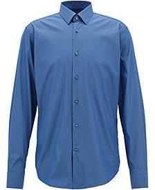 BOSS Men's Stretch Gingham Shirt