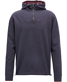 BOSS Men's Relaxed-Fit Cotton Hooded Sweatshirt