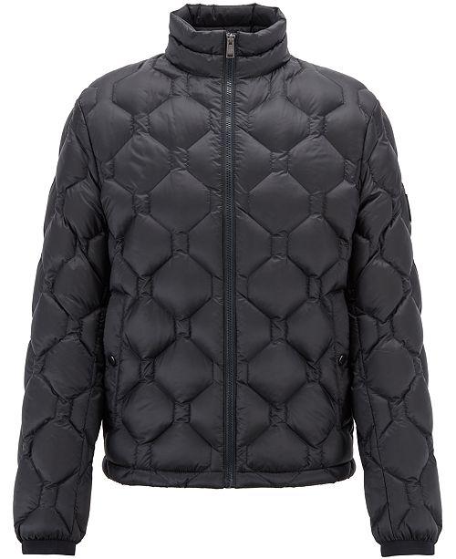 0c60b5dd7ac Hugo Boss BOSS Men s Regular Classic-Fit Down Jacket   Reviews ...