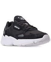 new products c0413 bdb2c adidas Women s Originals Falcon Suede Casual Sneakers from Finish Line.  Quickview