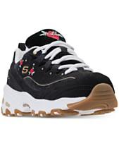 Skechers Women s D Lites - Rose Blooms Walking Sneakers from Finish Line 3d94a2a35