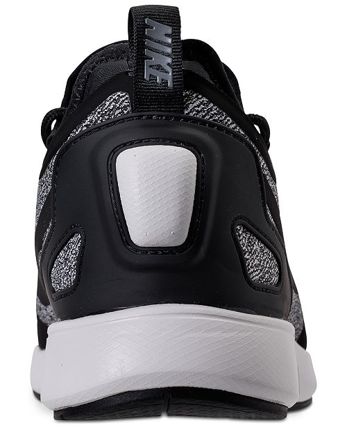 best website 1a154 8ecde ... Nike Women s Duel Racer Knit Casual Sneakers from Finish ...