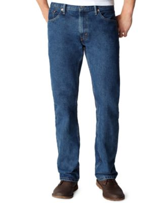 Dark Blue Stone Washed 505™ Jeans for Men | Levi's®