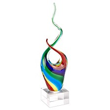 Rainbow Note Sculpture