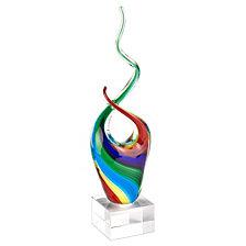 Badash Crystal Rainbow Note Sculpture