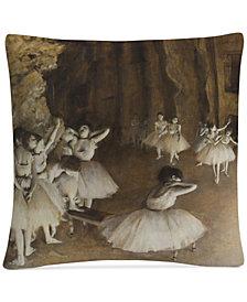 Edgar Degas Ballet Rehearsal, 1874 16 Inch Decorative Throw Pillow
