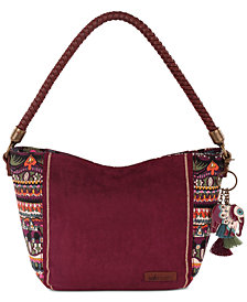 Sakroots Elsa Canvas Hobo