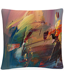 "Ricardo Tapia Garden 16"" x 16"" Decorative Throw Pillow"