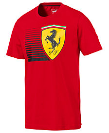 Puma Men's Ferrari Big Shield T-Shirt