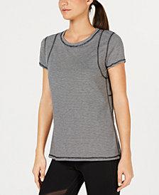 Calvin Klein Performance Inset Shoulder Seams T-Shirt