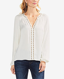 Vince Camuto Studded Top
