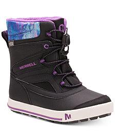 Merrell Big Girls Snow Bank 2.0 Waterproof Boots