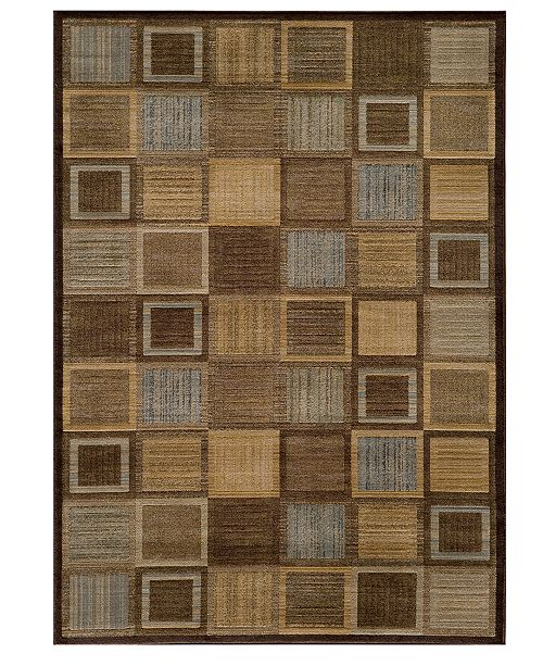 "Momeni CLOSEOUT! Area Rug, Dream DR-07 Brown 2'3"" x 7'6"" Runner Rug"