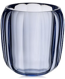 Villeroy & Boch Cozy Winter Sky Blue Hurricane Lamp Small Vase